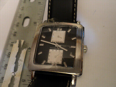 Kenneth Cole Mens Stainless Steel Square Multifunction Quartz Watch KC1235