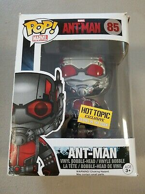 Funko Pop Marvel Ant-Man Glow in the Dark 85 Hot Topic
