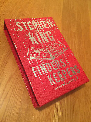 Stephen King - Finders Keepers slipcase (brand new) FREE SHIPPING