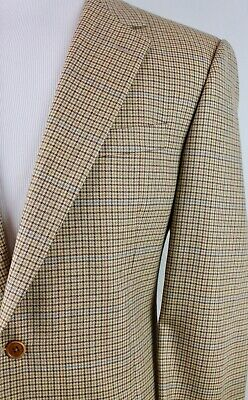 Brooks Brothers 1818 x Lardini Italy 100% Wool Autumn Houndstooth Sport Coat 44L