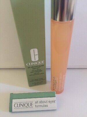 Clinique All About Eyes Serum De-Puffing Eye Massage Roll On 15ml/0.5oz New Box