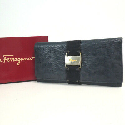 Authentic Salvatore Ferragamo Vara 22 3099 purse leather[Used]