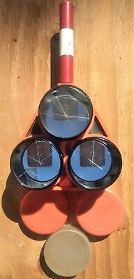 Retro Ray Surveying Triple Prism Assembly w/ Case and Omni Prisms