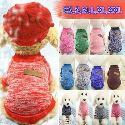 Dog Cat Coat Jacket Winter Clothes Puppy Cat Sweater Clothing Pet Coat Apparel