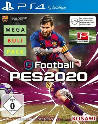 PS4 efootball PES 2020 Pro Evolution Soccer 20 BUNDESL Patch Update Option File