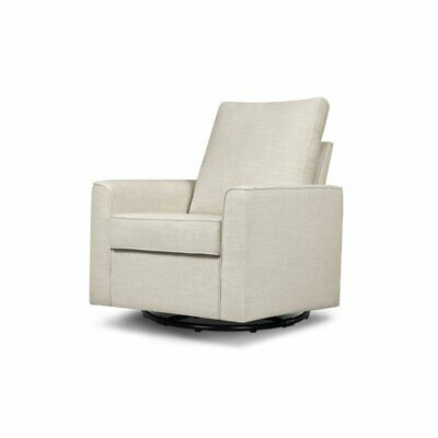 Outstanding Babyletto Tuba Extra Wide Swivel Glider Winter Grey Weave Pabps2019 Chair Design Images Pabps2019Com