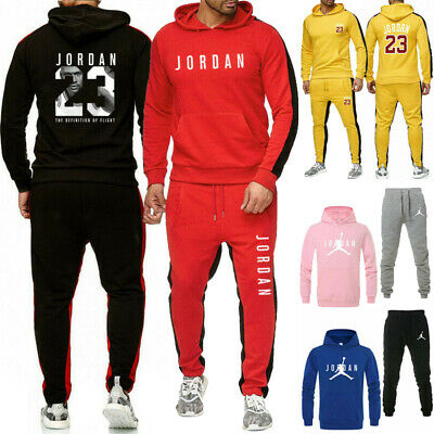 Legend Men Tracksuit Suit Hoodie Sweatshirt Sweatpants Set Jogging Coat Jacket