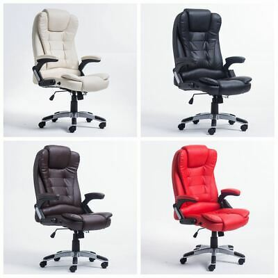 Executive Home Office Chair Ergonomic Gaming Race Recliner Chair with Footrest