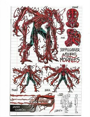 Absolute Carnage Miles Morales 1 Garron Young Guns Variant Spider-Man 2019 NM
