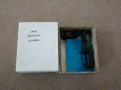 LACE  BOBBIN WINDER NEWNHAM, table clamp winder