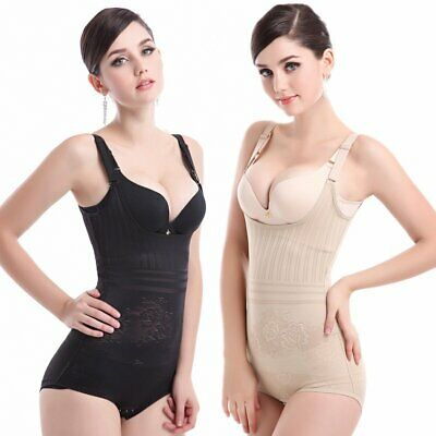 Women Full Body Waist Trainer Shaper Underbust Corset Cincher Shapewear Bodysuit
