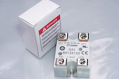 Crouzet Gn 84134120 Solid State Relays Inp : 4-32V UC out: 50 a 48-660V AC New