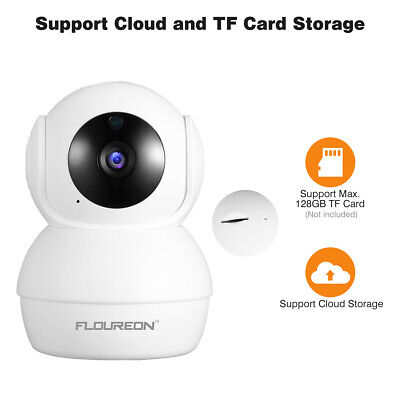FLOUREON 1080P HD Wireless CCTV Caméra IP Camera Caméras de sécurité WiFi Audio