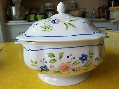 Country French Ironstone Soup Tureen, Vintage