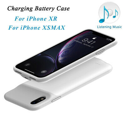 Ultra Slim Battery Case Power Bank Backup Charging Cover For iPhone XR/ XS MAX