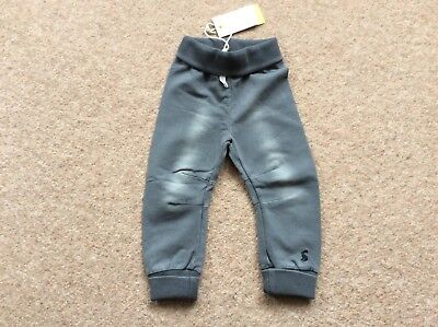 Joules Baby Hugo Grey Denim Joggers/Trousers BNWT 3-6 and 6-9 Months available