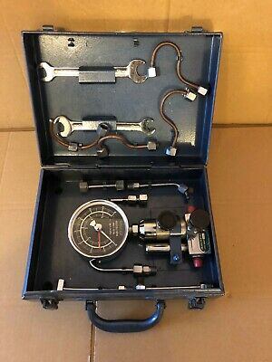Rare Vintage Dunedin Engineering Injectester, Injection Compression Tester
