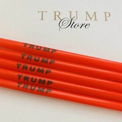 5 Official Trump Reusable Straws BPAFree Make Straws Great Again 🇺🇸Made in USA