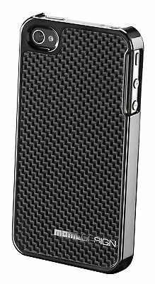 Mono Carbon Dark Grey Cover Case Sleeve For Iphone 4 Iphone 4S