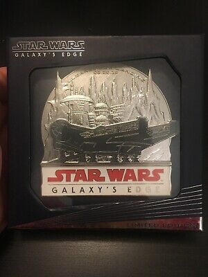 2019 Disney's Hollywood Studios Galaxy's Edge LE Opening Day Jumbo Pin 1000 HTF