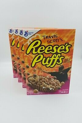 Travis Scott's Reese's Puffs Cereal NEW SEALED