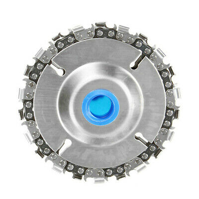 4 Inch Angle Grinder Disc 22 Tooth Chain Saw for Wood Carving Cutting Tool H1R7