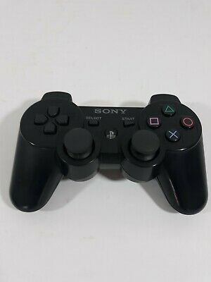 Official Sony PS3 DualShock 3 Controller Black PlayStation CECHZC2U