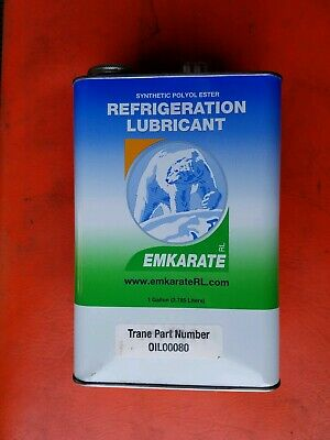 Polyol Ester POE Refrigeration Oil Lubricant Emkarate  Synthetic 1 Gal