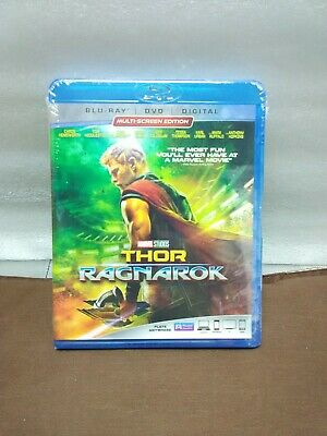 Marvel THOR RAGNAROK Blu-ray, DVD & Digital  2018 MCU