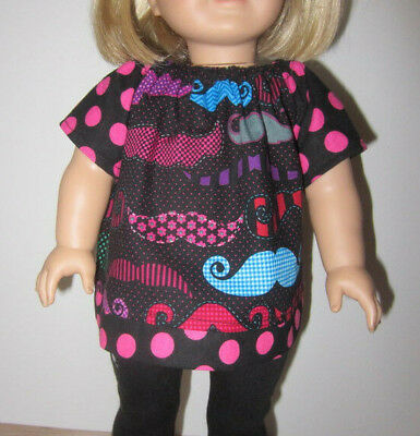 "Deb BLACK Dress-UP Costume TOP HAT Doll Clothes For 18/"" American Girl Boy Logan"