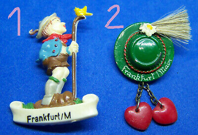 CHOICE Frankfurt am Main Unusual German Tyrol Bavaria Oktoberfest Hat Pin