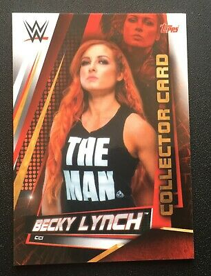 Topps Slam Attax Universe 2019 Becky Lynch Collector card