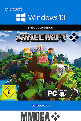 Minecraft - Windows 10 Edition Key PC Download Spiel Code [DE][EU][Blitzversand]