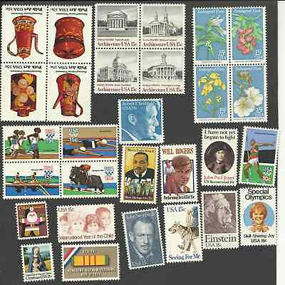 1979 Us Mint Complete C0Mmemorative Year Set 29 Stamps Mnh