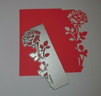 Metal Cutting Die Suitable for Sizzix Cuttlebug machines - Rose Edge Design