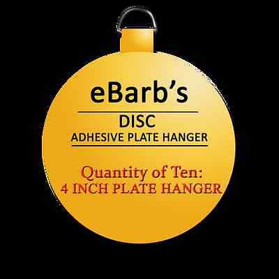 Ten 1 in hangers-eBarb/'s ORIGINAL Plate Hangers SEE OUR STORE $1.99 to $25.99