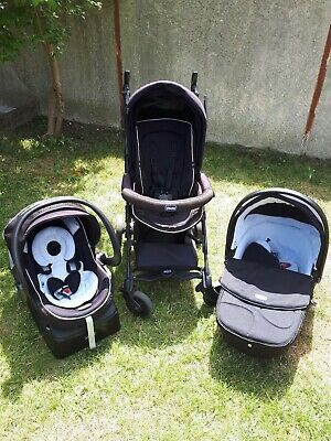 Poussette Chicco Trio Cosy + Nacelle + Assise
