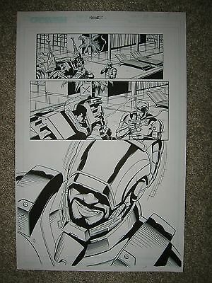 IRON MAN 28 pg 19 STARK BROTHERS ARMORED UP