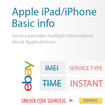 Apple iPhone/iPad Carrier Check by IMEI