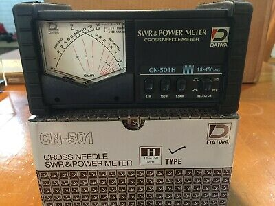 SWR /& Power Meter 140-525 MHz Replaces CN-801VN 20//200Watts Daiwa CN-901VN