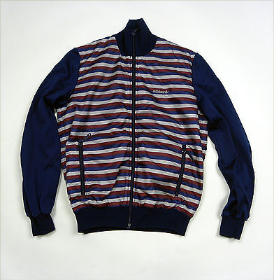 * Adidas Vintage Tracktop Jacket Tracksuit Made in West Germany RARE