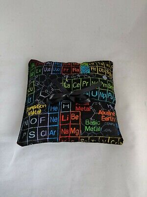 Periodic Table Wedding Ring Pillow - Ring Cushion- Ring Bearer Pillow - Science