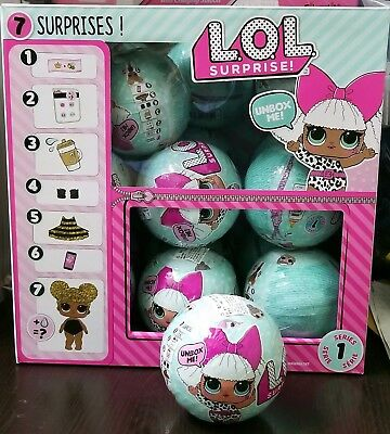 1pc ( 1 Ball / Doll ) Authentic LOL Surprise Doll Series 1