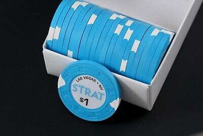 Las Vegas The Strat Casino Chip $1 lot x20 - UNCIRCULATED - NEW RELEASE