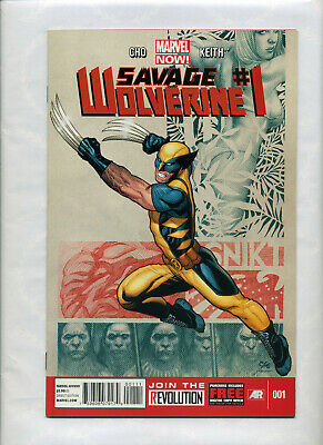 Savage Wolverine #1 Blank Cover Variant Edition Marvel Comics CB9956