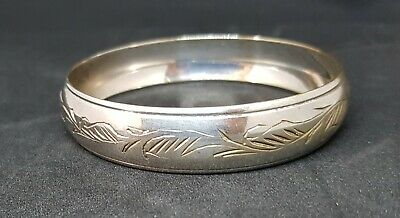 EPNS Silver Plated Beautiful Antique Victorian Etched Engraved Bracelet