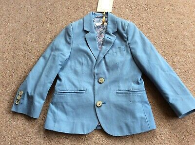 John Lewis Boys Textured Jacket From The Heirloom Collection BNWT Age 3 Years