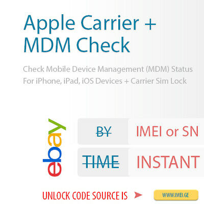 Check Mobile Device Management (MDM) Status For iPhone, iPad + Carrier Info