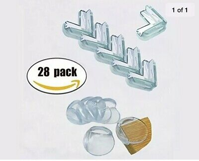 New Baby Safety Corner Guards- 28 Pack Ball Shaped Anti Bump Safety Angle Tab