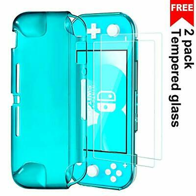 VGUARD Funda with 2 Protector Pantalla para Nintendo Switch Lite, Silicon TPU